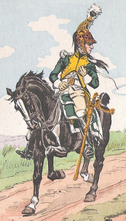 Gentilhomme volontaire des Dragons (Image Pinterest).