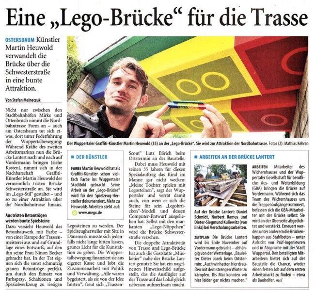 Lego Bridge in the News