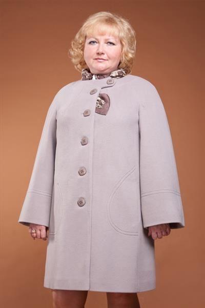 Пальто больших размров