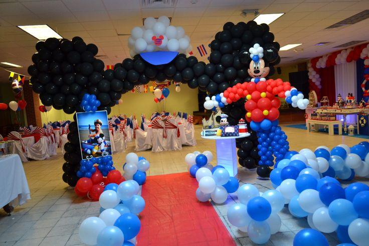 Disney Cruise birthday party theme CLAUDIA BARROS EVENTS