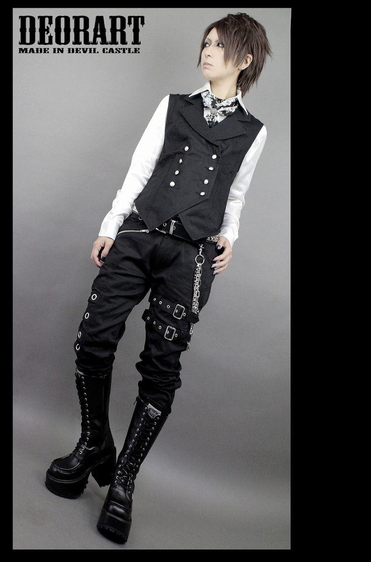 fashion/Visual kei/goth/ V系,ヴィジュアル系,スチームパンク,ゴシック,ストリート モード,王子,燕尾,ベスト,レディス,コーデ,ファッション,コスプレ,ハロウィン,コーデ,メンズ,Deorart,ディオラート