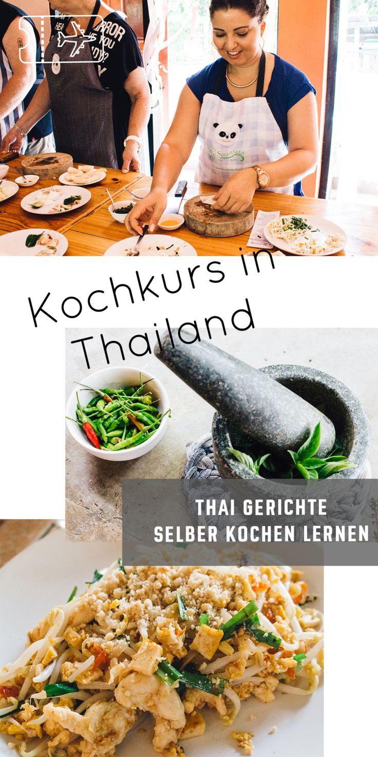 Kochen lernen in Chiang Mai: Thailändisch kochen für Anfänger - endlich Thai-Küche selbst kochen. Der beste Kochkurs in Chiang Mai! Mache deine eigene Thai Currypaste für dein Thai Curry, koche Klassiker der thailändischen Küche wie Pad Thai, Tom Kha Gai und Frühlingsrollen. Mehr auf thehappyjetlagger.com.