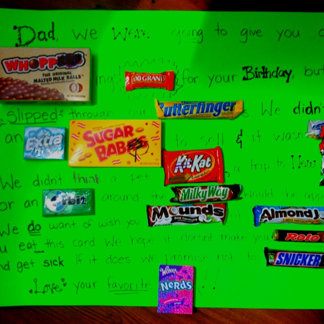 25+ Unique Candy Birthday Cards Ideas On Pinterest