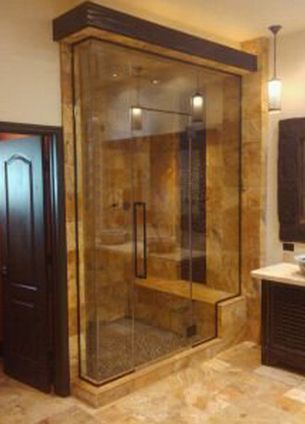 Custom Steam Showers For The Home By Full Glass Find This Pin And More On Master Bath Ideas