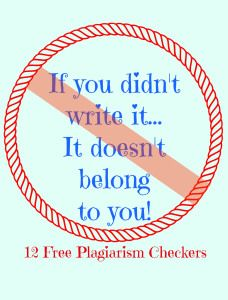 plagiarize checker for teachers Plagiarism is a common (and often misunderstood) problem that is often the result of a lack of knowledge and skills our mission is to support the education community.