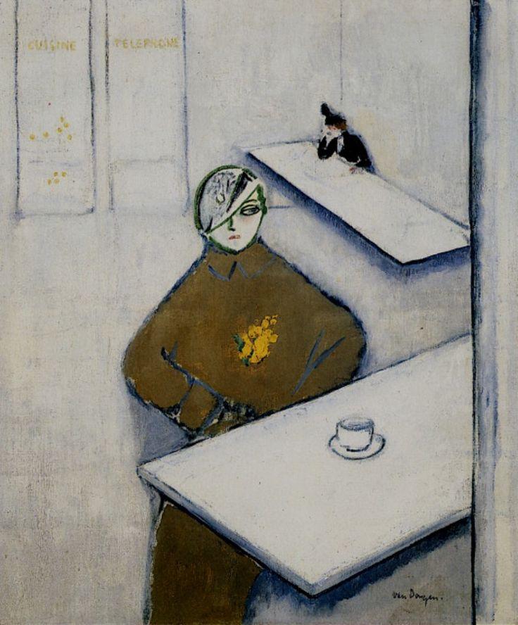 Kees van Dongen. Femmes au café