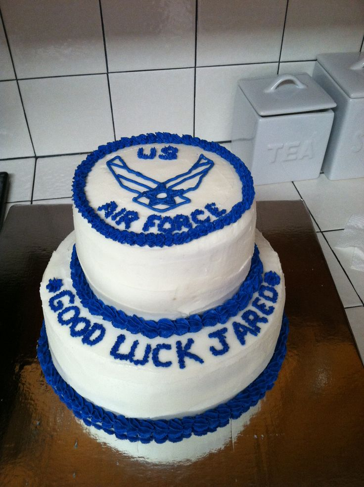 17 best images about throwing in the towel on pinterest for Air force cakes decoration