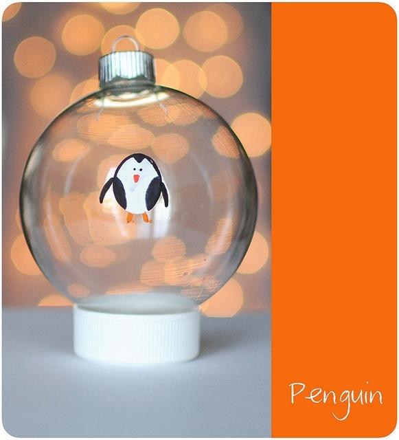 Elementary Christmas Craft Ideas Part - 35: Thumbprint Christmas Ornaments. Sweet Craft Idea.