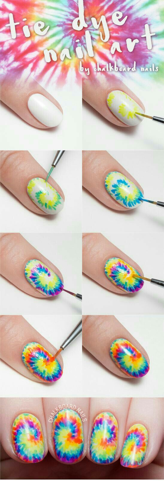 74 best rainbow - gay pride nail art images on pinterest | nail