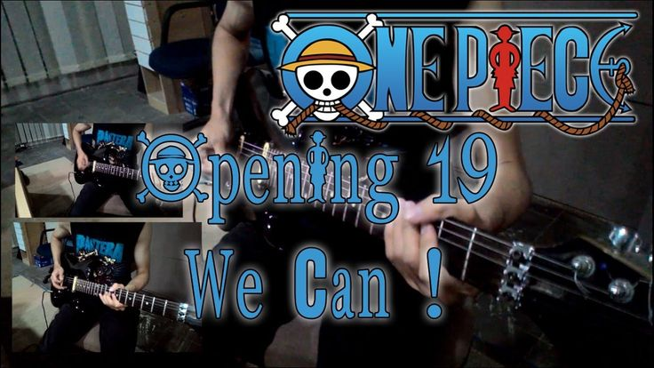 One Piece Opening 19 - We Can! [Guitar Cover] Instrumental