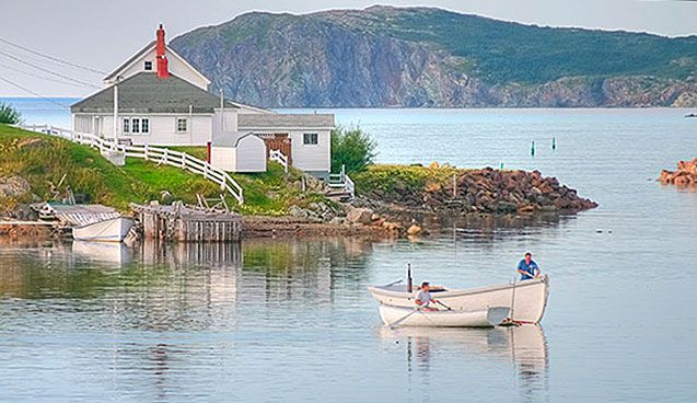 Welcome to the town of Twillingate - World renown for icebergs, seascapes and fresh air.
