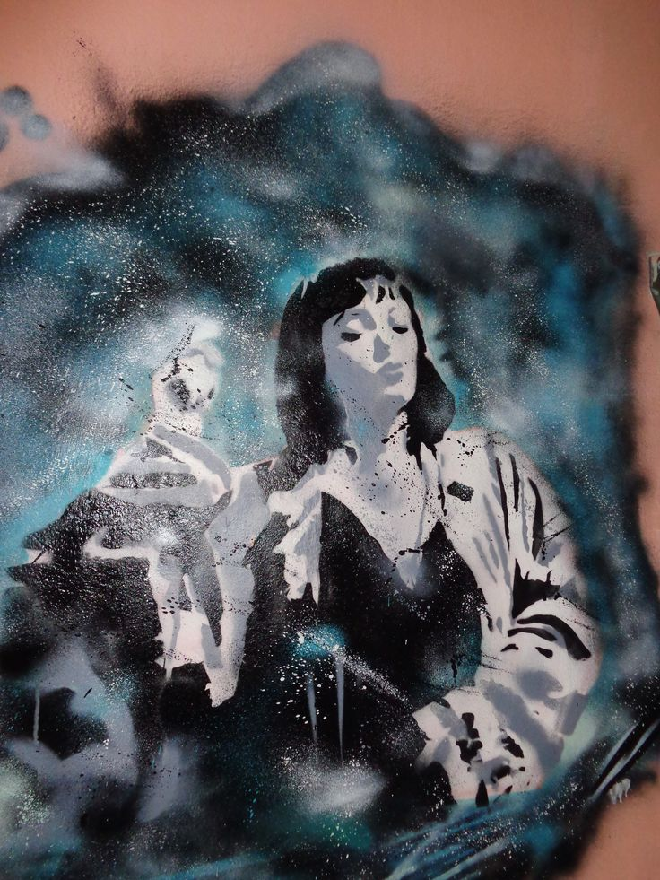 Mia Wallace......  Francesco Rankore  #pulpfiction #stencil #miawallace
