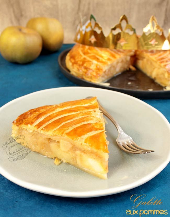 Galette des rois aux pommes : Il était une fois la pâtisserie #galette #rois #pomme
