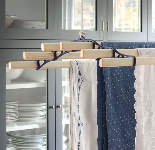 10 Vegetables You Can Regrow Yourself From Kitchen Scraps: Our Six Wooden Lath Pulley Maid Laundry Drying Rack