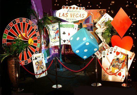 Festa tema casino las vegas