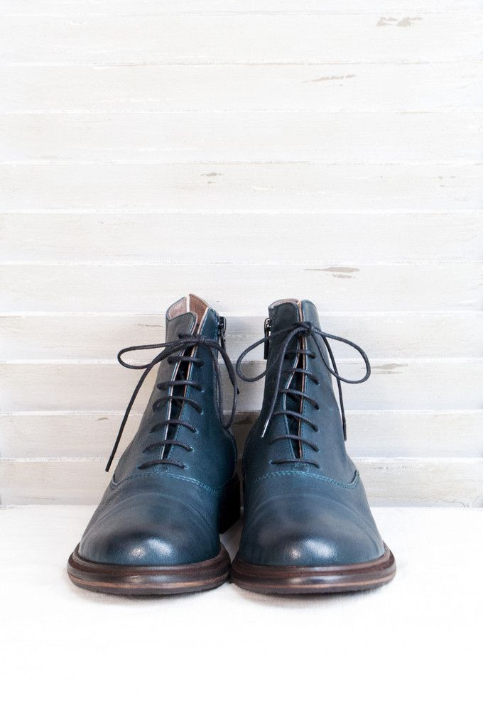 Lofina Lace Up Boots in Navy. Shop Here: http://www.bluewomensclothing.co.uk/collections/footwear/products/lofina-lace-up-boots-in-navy