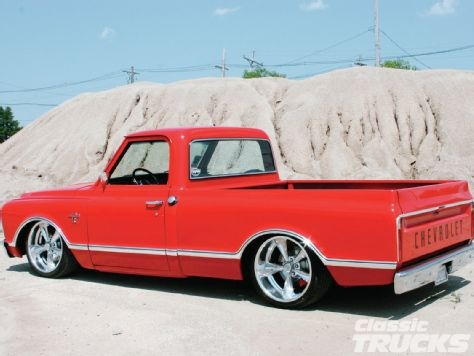 Custom 1968 Chevy SWB C10.