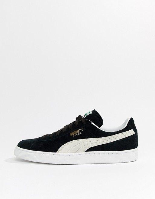 3e7515f9e00 Puma Suede Classic sneakers in black 35263403 in 2019 | sneackers ...