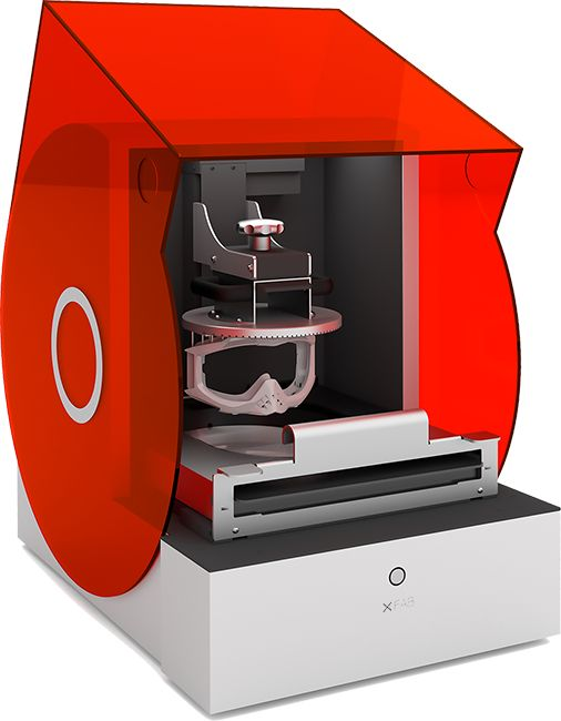 This looks promising. XFAB 3D Printer by DWS LAB 3d
