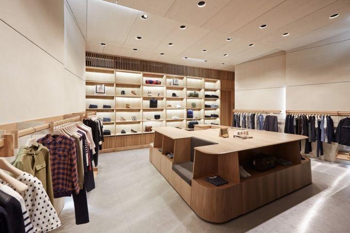 A.P.C. store by Laurent Deroo & Kelvin Ho, Melbourne – Australia