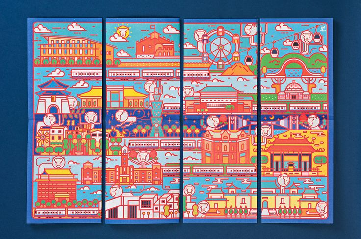 Taipei Metro / Year of the Monkey Commemorative Tickets on Behance