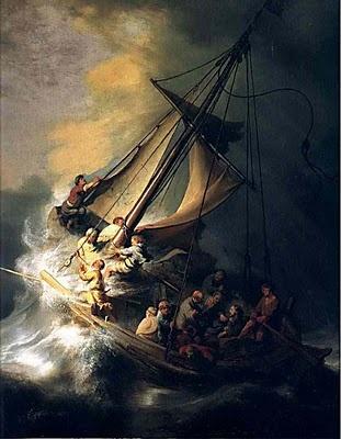 Rembrandt van Rijn : Le Christ dans la tempête sur le lac de Galilée