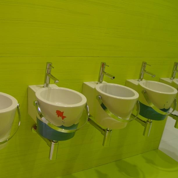 #Kypriotis #Design #Innovation #Bathroom #Tiles Οι νιπτήρες κουβάδες όπως τους είδαμε στην Έκθεση