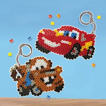 SES Creative 14735 - Bügelperlenset Cars