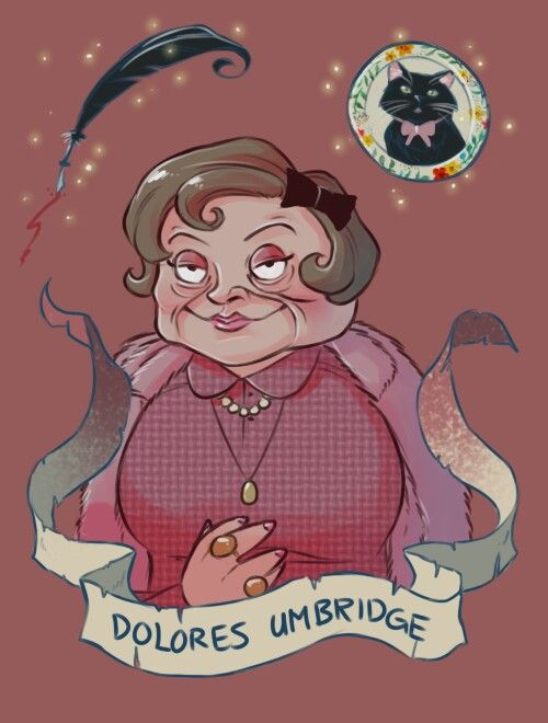 Dolores Umbridge by: Brenna-Ivy