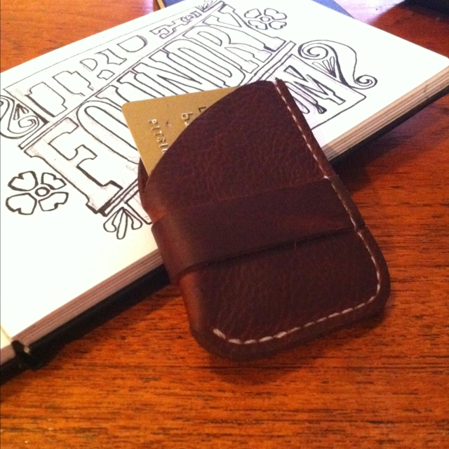 Wulf Inspired (read: copied) Leather Wallet