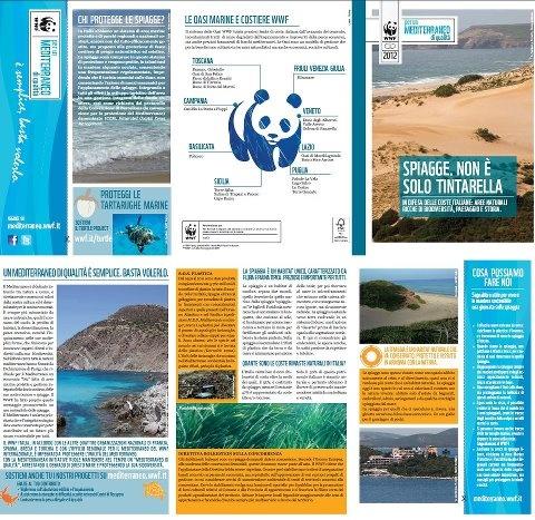 Progetto Mediterranean Sea Pieghevole per la salvaguardia del nostro mare