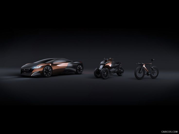 The Peugeot Onyx and cousins. So that tricycle, what happens if you modify the rear to 2 tyres?