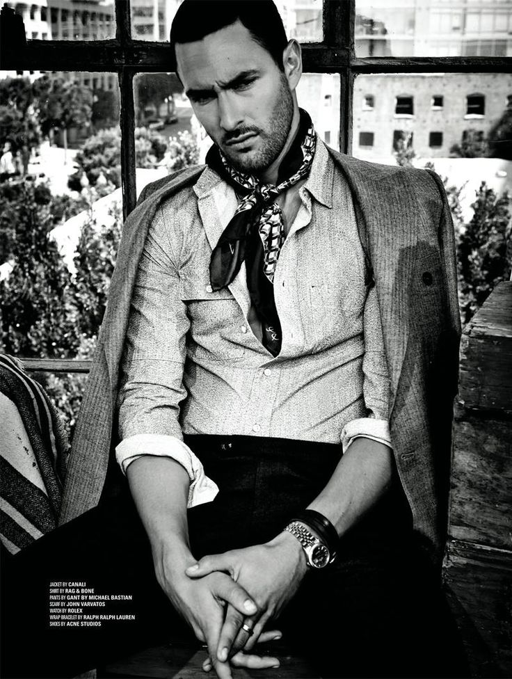 The New Boy in Hollywood/Noah Mills (DSECTION Magazine). Grow that hair back and stop trying to look like Tom Ford, dammit!