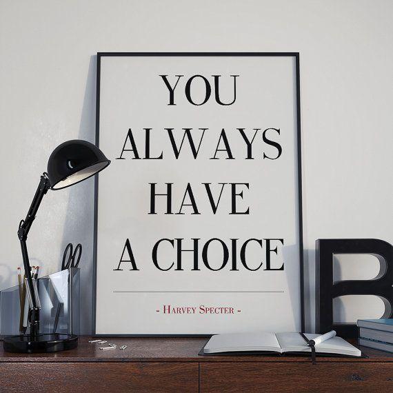 Harvey Specter Poster Harvey Specter citazione di AYAKAstudio