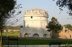 """The Mausoleum of Theodoric in Ravenna  is a unique monument and the only existing tomb of a """"barbarian"""" king from the Late Antiquity period."""