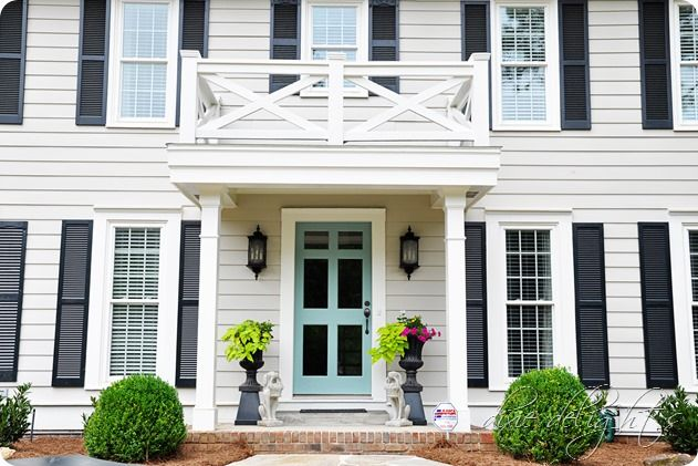 17 Best Images About Exterior Color Ideas On Pinterest Blue Doors Revere Pewter And Front Doors