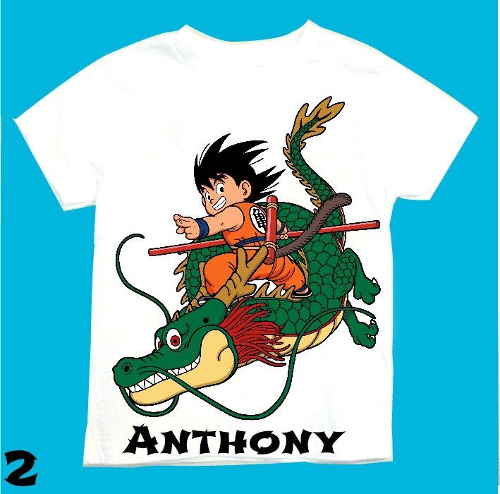 Goku T-shirt Personalized 1st 2nd 3rd 4th 5th 6th Personalization is included at no additional cost. by FantasyKidsDesigns on Etsy https://www.etsy.com/listing/233628976/goku-t-shirt-personalized-1st-2nd-3rd