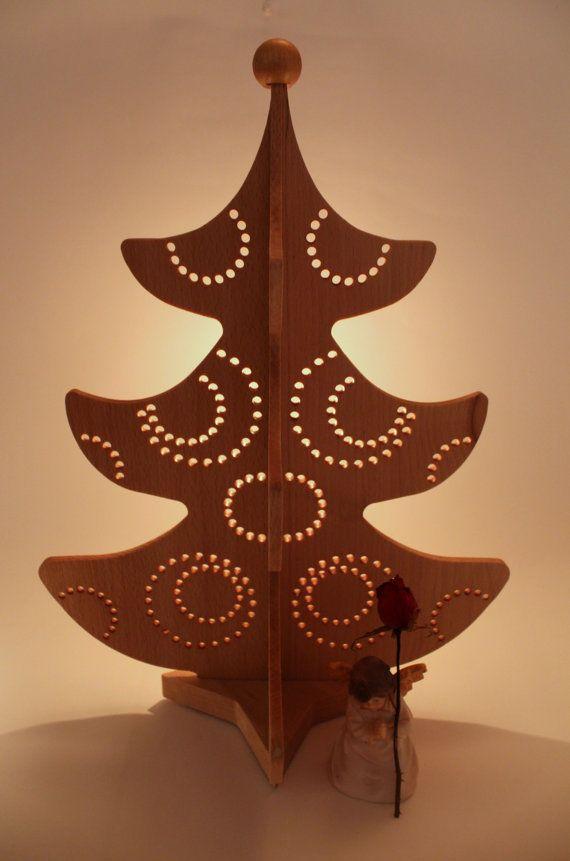 In legno natale albero Missy da tavolo Natale di LovingWoodCom