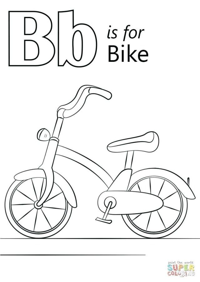 Girl On Bike Coloring Book Page Free Printable Coloring