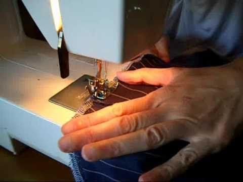 Come fare l'orlo ad un paio di Jeans - YouTube