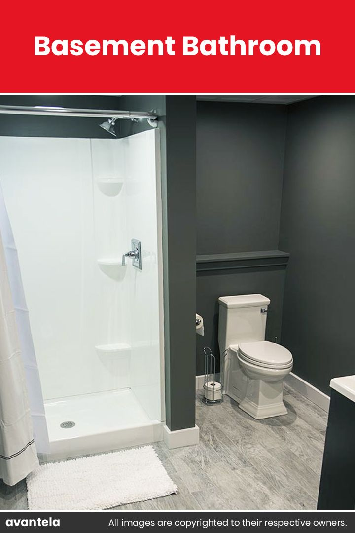 65 Basement Bathroom Ideas 2020 That You Will Love Small Basement Bathroom Basement Bathroom Basement Remodeling