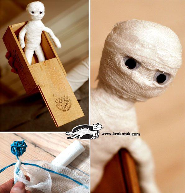 Dummie de mummie! Davizinho adora mumia..