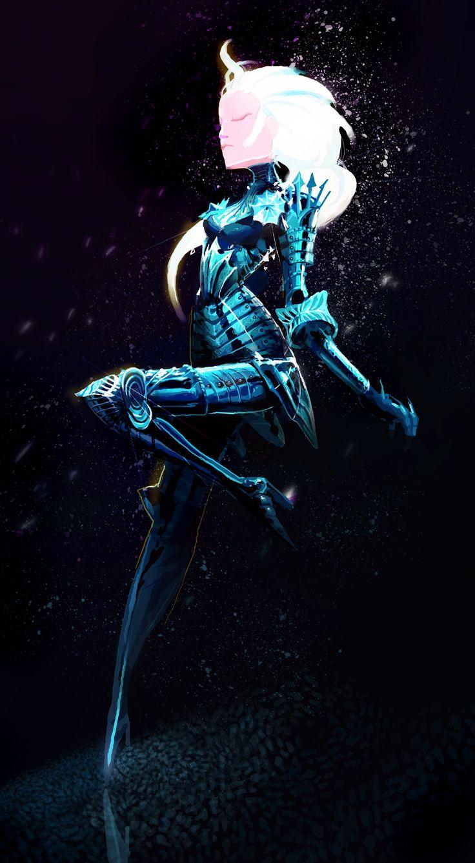 """Frozen Queen by Art-Calavera.deviantart.com on @deviantART - Elsa from """"Frozen"""" in a fanmade armour design"""