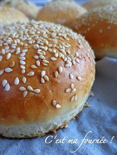 Pain burger testé et validé !!!