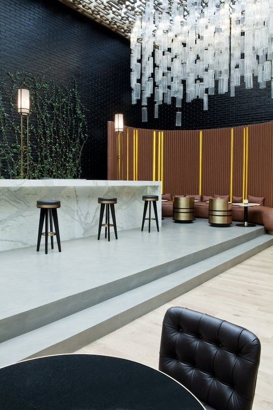 Beefbar by Humbert & Poyet Architecture The firm has worked on several Beefbars, with elegance being a common thread.
