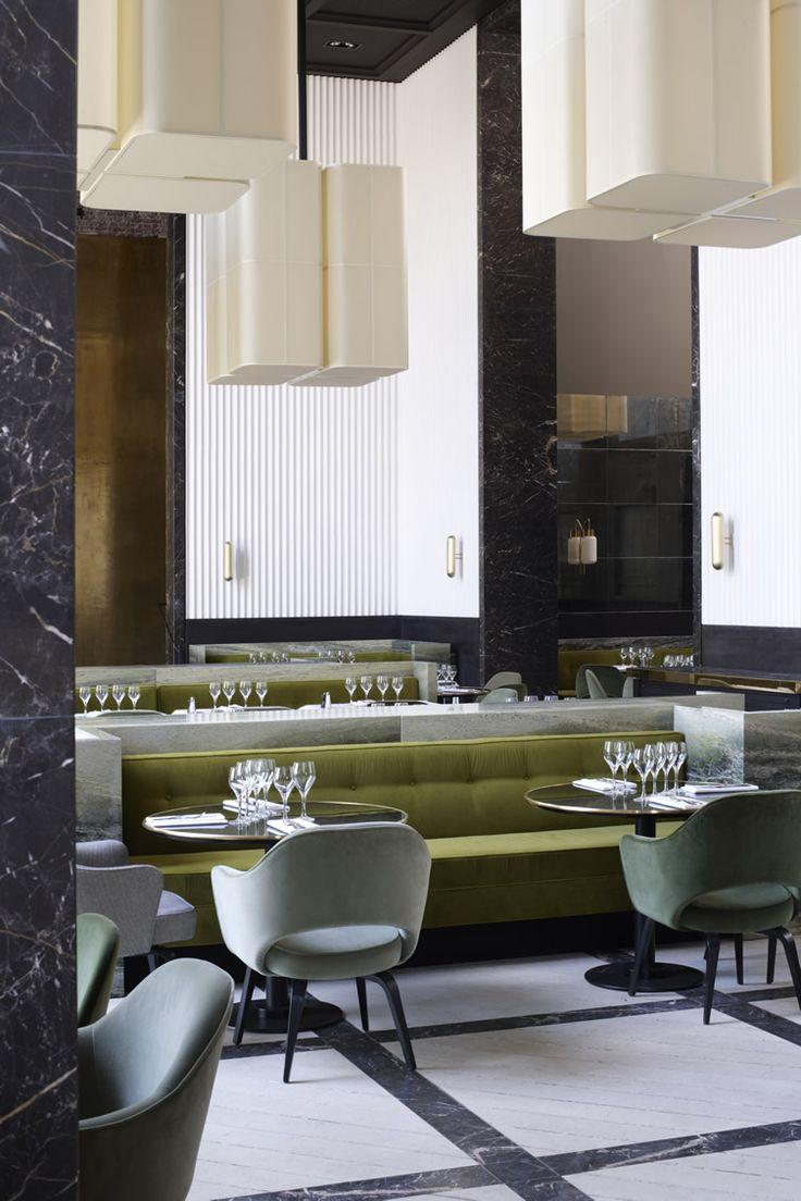 El caliente bar by sweet co tokyo 187 retail design blog - Monsieur Bleu At Palais De Tokyo Paris