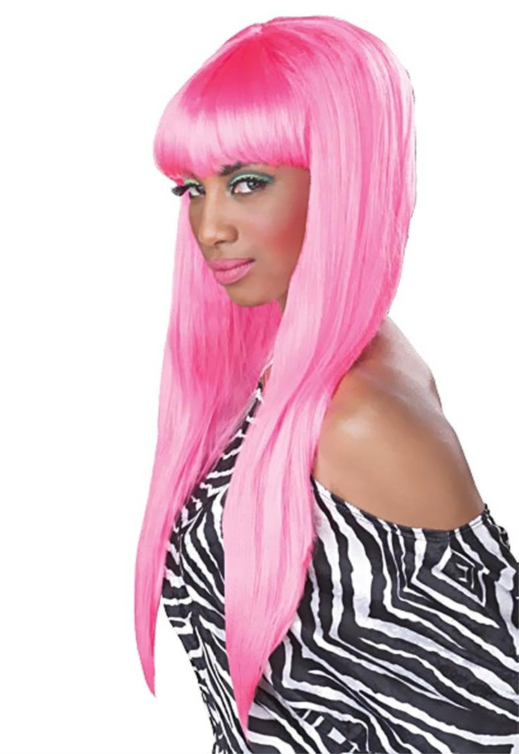 Hot Pink Adult Wig available at Teezerscostumes.com: Princesses Bubblegum, Gum Pink, 2012 Wigs, Adult Wigs, Bubblegum Wigs, Halloween Costumes, Bubbles Gum, Pink Wig, Bubblegum Halloween