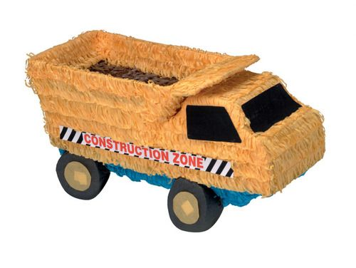 This Dump Truck pinata will bring loads of fun to your next party!
