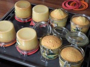 Kuchen auf Vorrat - Kuchen im Glas