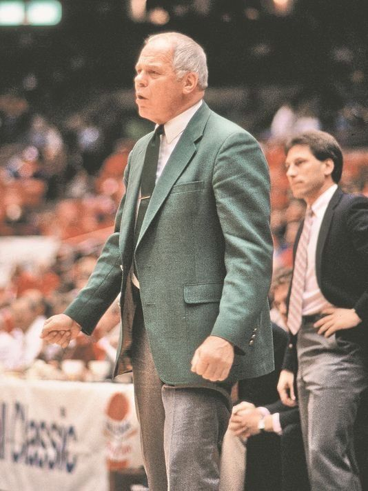 Legendary Michigan State Basketball Coach-Jud Heathcote, has passed away at age 90. He led Magic Johnson & the Spartans to the 1979 NCAA National Championship! I met Coach Heathcote in 1980, very nice man. R.I.P. Jud. #spartyon #Spartanswill